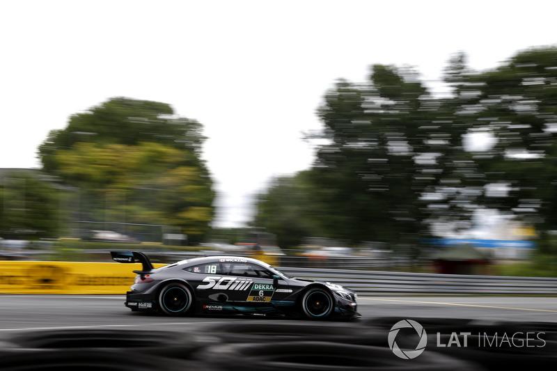 11. Robert Wickens, Mercedes-AMG Team HWA, Mercedes-AMG C63 DTM