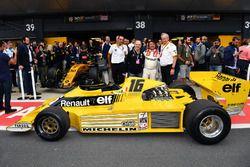 Cyril Abiteboul, Renault, Jerome Stoll, René Arnoux, Renault RS01
