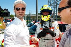 Il vincitore di Gara 1 Luca Rangoni, Turbosport & Autoclub by AC Racing Technology
