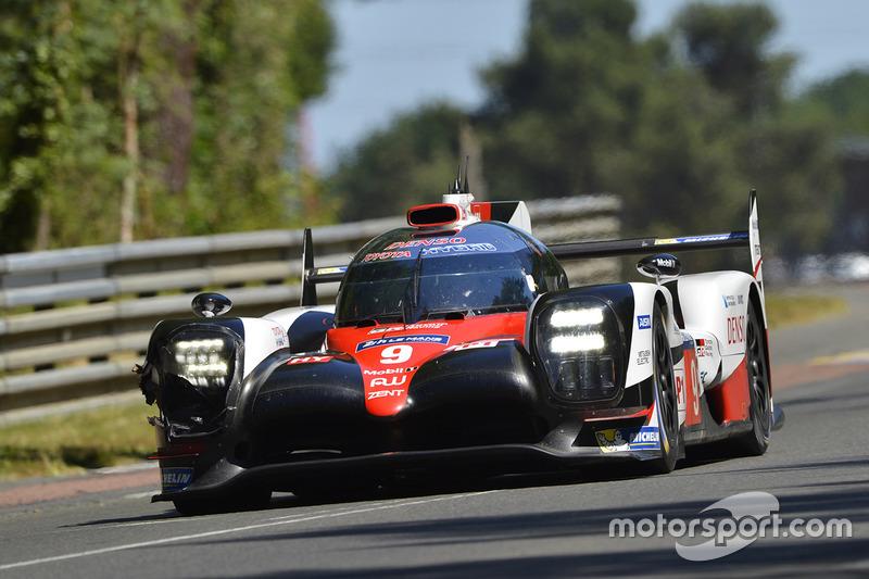 Ausfall LMP1: #9 Toyota Gazoo Racing, Toyota TS050 Hybrid