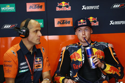 Bradley Smith, Red Bull KTM Factory Racing's garage