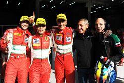 Vainqueurs GTE : Gianluca Roda, Giorgio Roda, Andrea Bertolini, Graff Racing