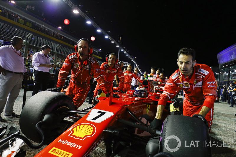 Todo pintaba de color de rosa para Ferrari tras la clasificación del sábado