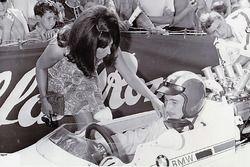 Les Rangiers 1967, Jo Siffert et sa première épouse Sabine, Lola-BMW F2