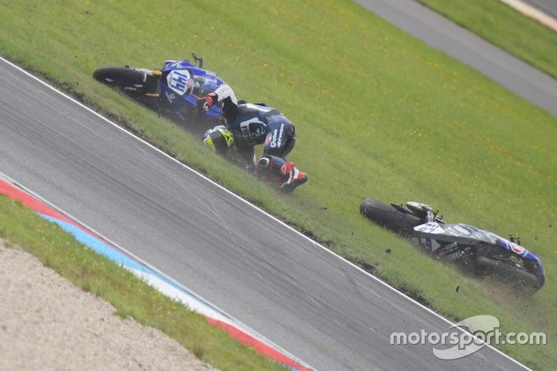 La caduta di Federico Caricasulo, GRT Yamaha Official WorldSSP Team