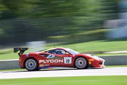 #19 Ferrari of Long Island Ferrari 488: Christopher Cagnazzi