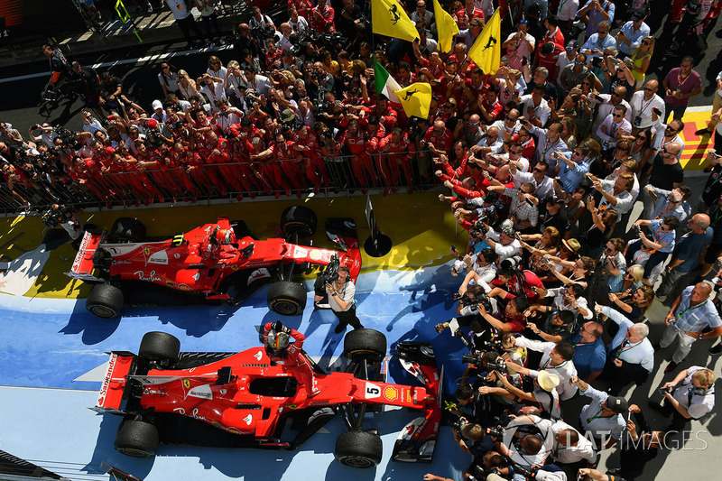 Ferrari a transformé le cauchemar en rêve