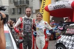 Andrea Crugnola und Moira Lucca, Rallye del Ticino Preisverleihung