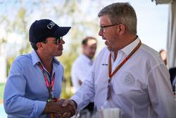 Ross Brawn, Formula One Managing Director de Motorsports y Alex Mea, Carbon Champagne