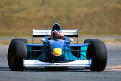 Michael Schumacher tests the Sauber Petronas C16 to assist the Swiss team with development informati