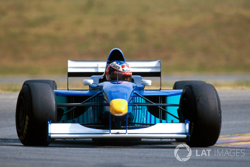 Michael Schumacher prueba el Sauber Petronas C16 (1997)