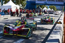 Даниэль Абт и Лукас ди Грасси, ABT Schaeffler Audi Sport