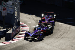 Sam Bird, DS Virgin Racing, ve Jose Maria Lopez, DS Virgin Racing