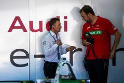 Allan McNish, directeur de l'équipe Audi