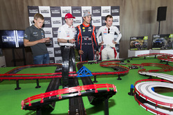 Отт Тянак, M-Sport, Яри-Матти Латвала, Toyota Gazoo Racing WRC, Андреас Миккельсен, Hyundai Motorsport, и Стефан Лефевр, Citroën World Rally Team