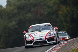 Leonard Weiss, Rene Offermann, Dirk Riebensahm, Porsche Cayman GT4 CS MR