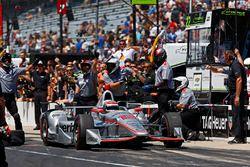1. beim Boxenstoppwettbewerb: Will Power, Team Penske, Chevrolet