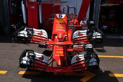 Ferrari SF70-H: Frontpartie