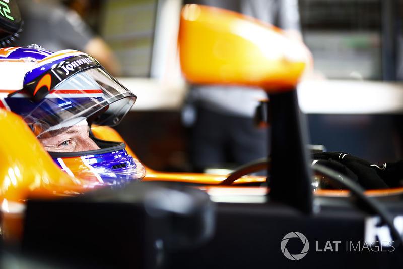 2017 год. Дженсон Баттон. 1 гонка в McLaren