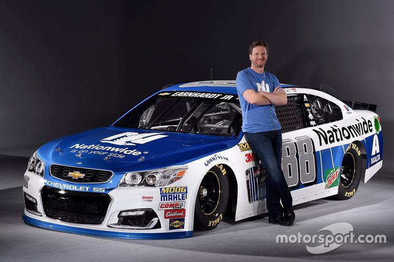 Dale Earnhardt Jr., Hendrick Motorsports Chevrolet new Nationwide livery