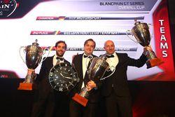 2016 Takımlar şampiyonu HTP Motorsport, 2. Belgian Audi Club Team WRT, 3. Team WRT/ Belgian Audi Clu