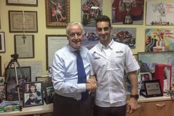 Giampiero Sacchi, IodaRacing Project team owner and Leandro Mercado