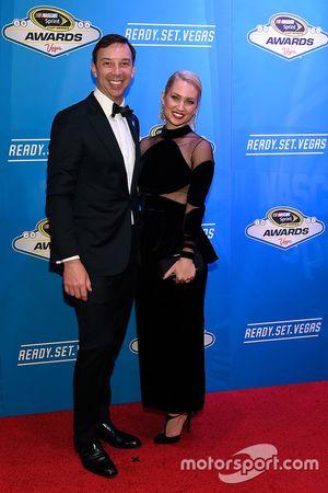 Crewchief Chad Knaus mit seiner Frau Brooke Werner