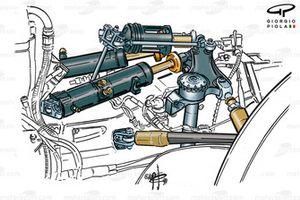 McLaren MP4-14 rear suspension