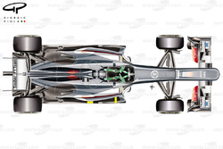 Sauber C32 top view, Hungarian GP