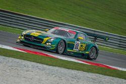 #52 SAITAMA TOYOPET Green Brave Mercedes-Benz SLS AMG GT3: Taku Bamba, Takayuki Hiranuma, Naoki Hatt