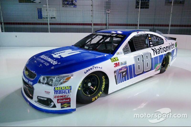 Dale Earnhardt Jr., Hendrick Motorsports Chevrolet nuevo patrocinio Nationwide