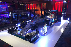 The F1 championship winning Mercedes AMG F1 of Nico Rosberg