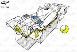 Brabham BT46B 1978 detalle del ventilador