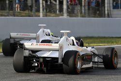 Patrick Friesacher y Zsolt Baumgartner, pilotos de la Experiencia F1