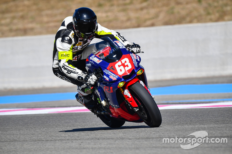 27. #63 LMD 63-Ultimate Cup, Yamaha: Erwann Quellet, Jean-Edouard Aubry, Mathieu Marchal