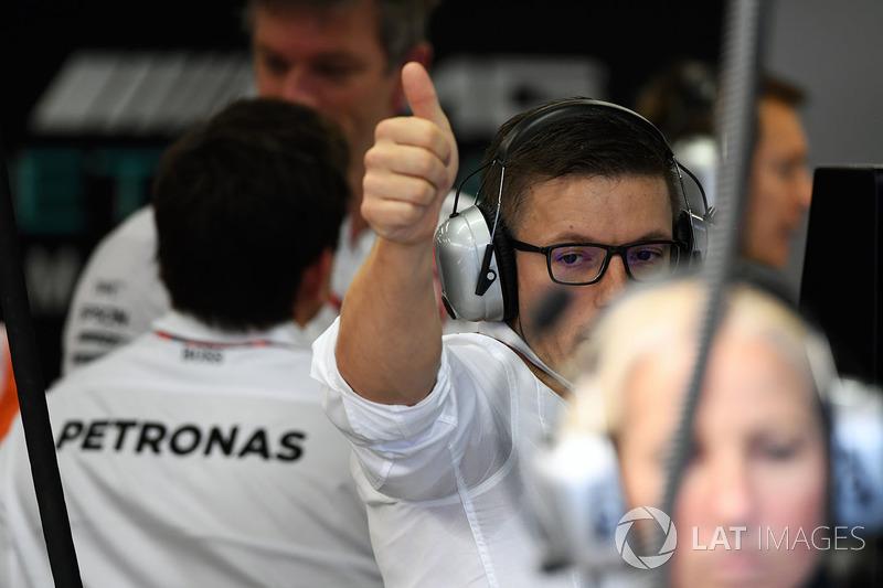 Pete Bonnington, Mercedes AMG F1 Yarış mühendisi