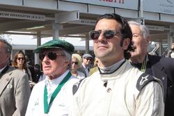 Jackie Stewart and Dario Franchitti