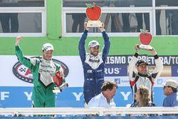 Podium: Agustin Canapino, Jet Racing Chevrolet, Julian Santero, Coiro Dole Racing Torino, Christian Ledesma, Las Toscas Racing Chevrolet