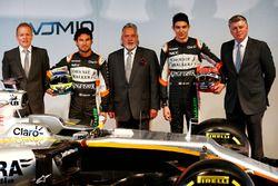 Andrew Green, Sahara Force India F1 Team Director técnico; Sergio Pérez, Sahara Force India F1; El D