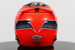 El casco de Esteban Ocon, Sahara Force India F1 Team