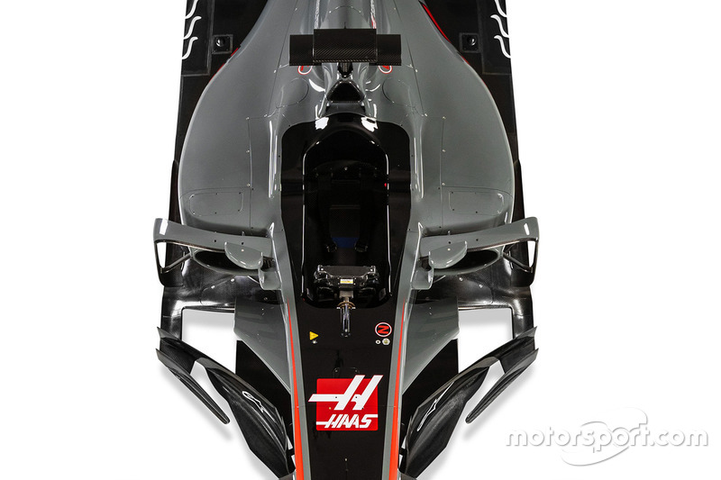 Haas F1 Team VF-17 detail