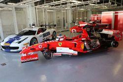 Ferrari 248 F1, Ferrari 458 Challenge