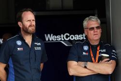 West Coast Racing team members