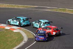 Pepe Oriola, Lukoil Craft-Bamboo Racing, SEAT León TCRand Gianni Morbidelli, West Coast Racing, Volk