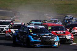 Frédèric Vervisch, Comtoyou Racing, Audi RS3 LMS, Daniel Lloyd, Lukoil Craft-Bamboo Racing, SEAT León TCR