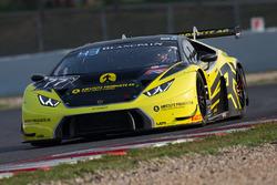 #77 Barwell Motorsport Lamborghini Huracan GT3: Hunter Abbott, Martin Kodric, Patrick Kujala