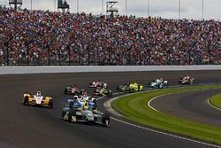 Ed Carpenter, Ed Carpenter Racing Chevrolet leads a pack