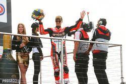 Podium: tercero, Chaz Davies, Ducati Team