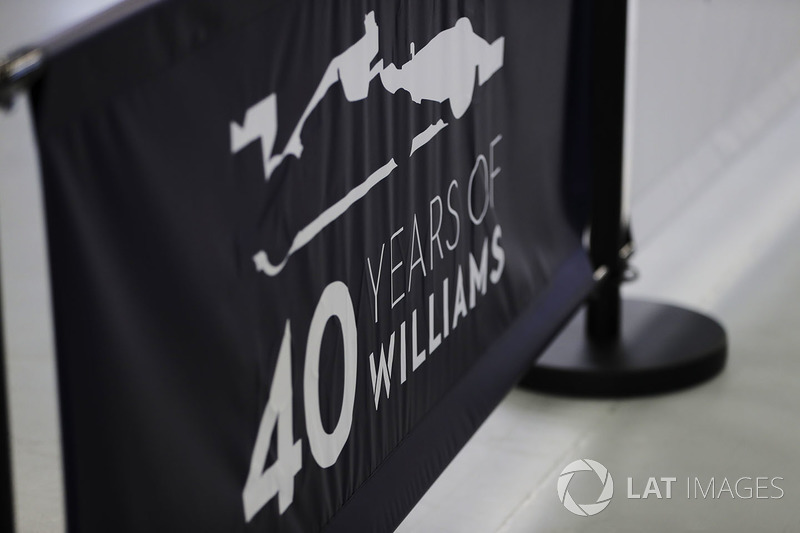 Williams 40th anniversary atmosphere