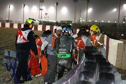 Crash, Johann Zarco, Monster Yamaha Tech 3